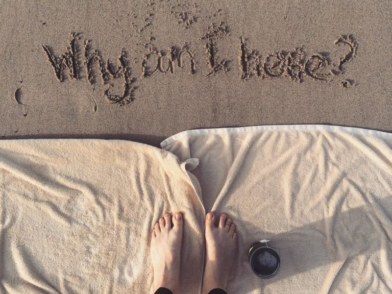 writing in sand